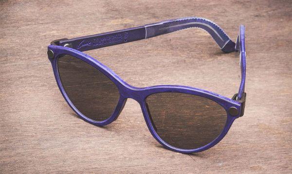 Kreuzberg Collection - Bermuda - Frame Blue - Glasses In Between Black